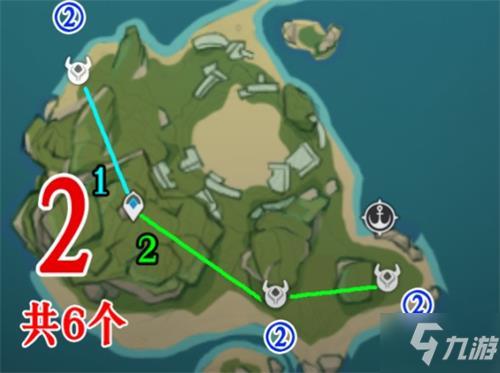 《原神》2.2獸境之狼位置攻略