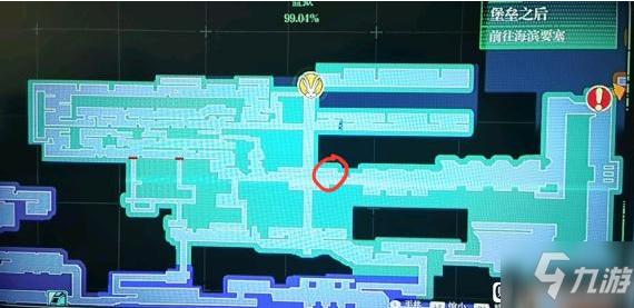 《暗影火炬城》監獄電梯頂部種子獲取方法