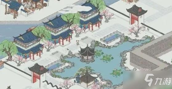 《江南百景圖》桃花村顏料兌換位置解析