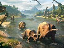 《巨兽战场》神秘岛屿 惊现史前巨兽
