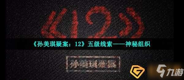 孙美琪疑案12五级线索神秘组织在哪-五级线索神秘组织位置介绍