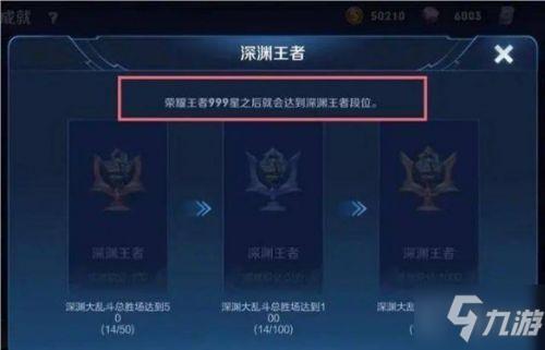 <a id='link_pop' class='keyword-tag' href='https://www.9game.cn/wzry/'>王者荣耀</a>深渊王者怎么获得