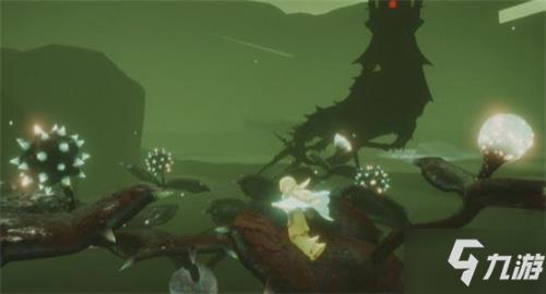 光遇4.21任务:巨兽荒原的神坛冥想地点/收集紫色光芒在哪