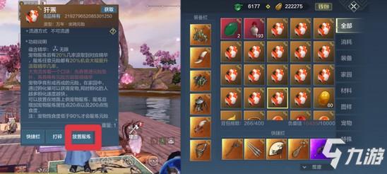 妄想山海宠物蜕变 吞蛋玩法攻略