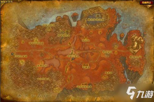 魔兽世界怀旧服氪金矿石分布一览 WOW怀旧服氪金矿石采集点