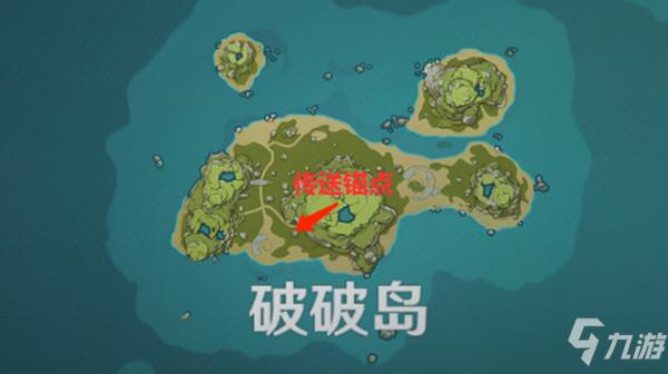 原神寻找其他壁画在哪里?岛与海的彼端任务5个壁画位置图示