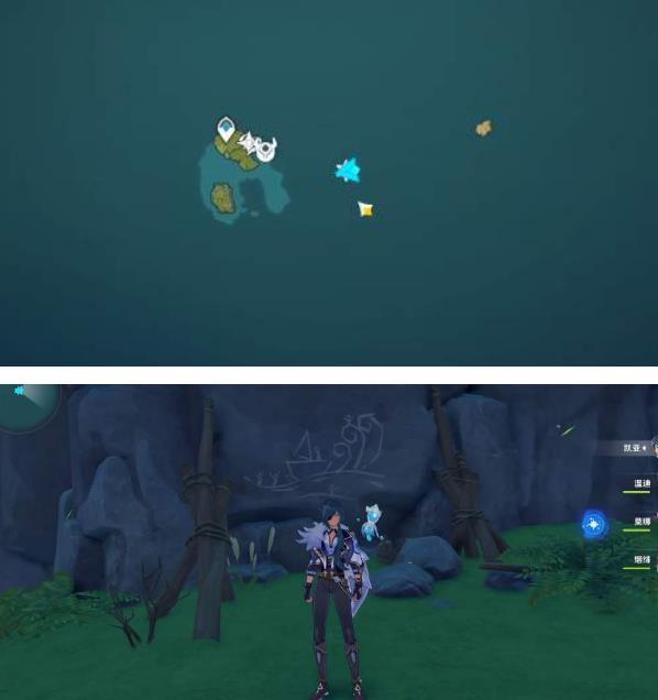 原神海岛壁画位置分布在什么地方