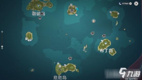 原神海岛人物位置在哪儿-原神海岛人物位置分享