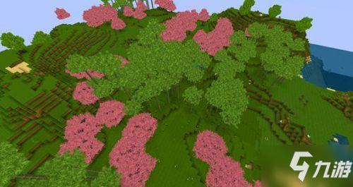 迷你世界桃花林的地形码分享 桃花林地形码汇总