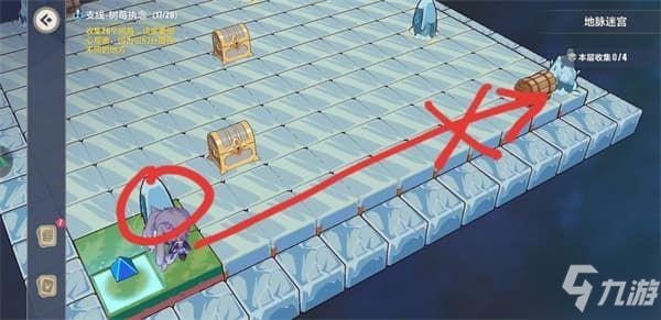 《崩坏3》天守阁地脉迷宫图文攻略