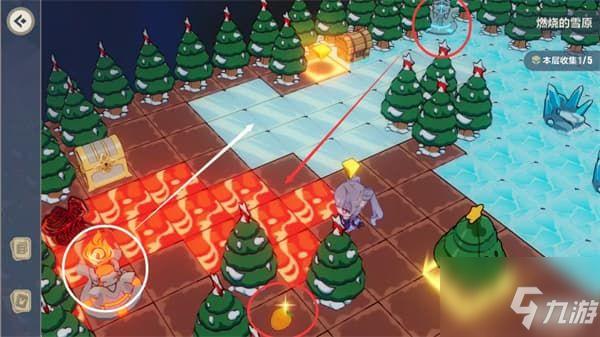 崩坏3燃烧的雪原通关攻略:燃烧的雪原全宝箱树莓位置和获取方法攻略