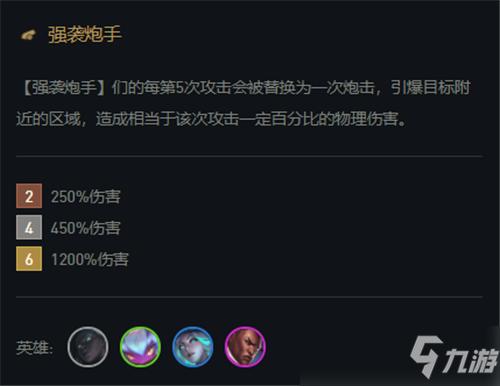 lol云顶之弈11.15版本最强阵容 卢锡安强袭炮手火力全开