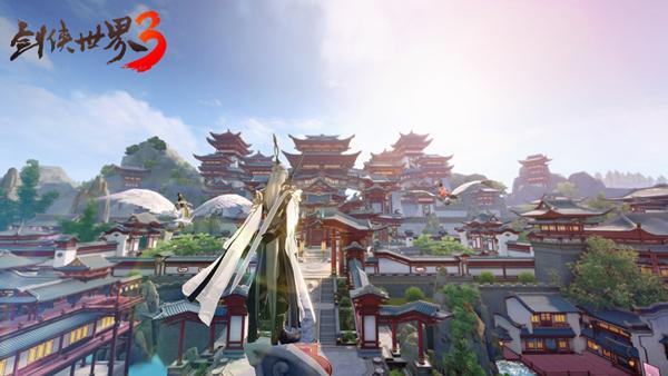 六段大轻功《剑侠世界3》御雕轻功视频首曝!