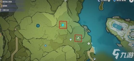 《原神》2.1蒙德矿点位置分享分享