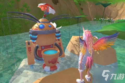 《創造與魔法》釣魚機器人玩法攻略