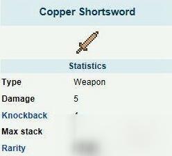 《泰拉瑞亚》铜制短剑怎么做